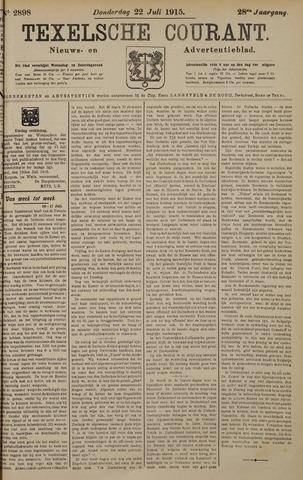 Texelsche Courant 1915-07-22