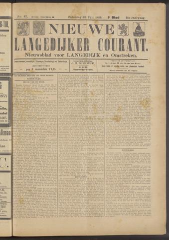 Nieuwe Langedijker Courant 1922-07-29