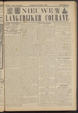 Nieuwe Langedijker Courant 1923-01-23