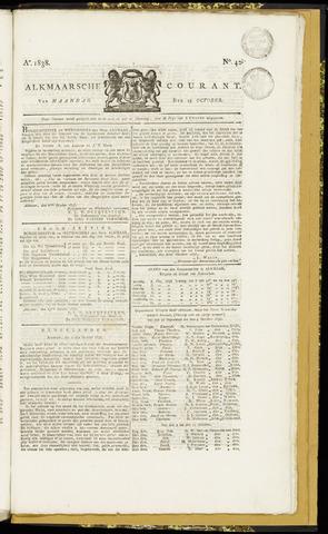 Alkmaarsche Courant 1838-10-15