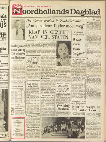 Noordhollands Dagblad : dagblad voor Alkmaar en omgeving 1965-01-28