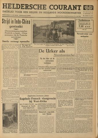 Heldersche Courant 1940-09-24