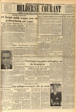 Heldersche Courant 1952-10-16