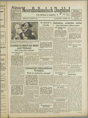 Nieuw Noordhollandsch Dagblad : voor Alkmaar en omgeving 1946-08-20