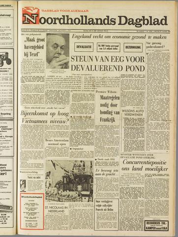 Noordhollands Dagblad : dagblad voor Alkmaar en omgeving 1967-11-20