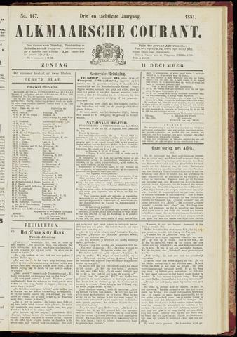 Alkmaarsche Courant 1881-12-11