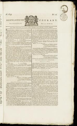 Alkmaarsche Courant 1835-04-20