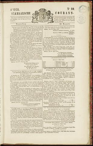Alkmaarsche Courant 1851-03-10
