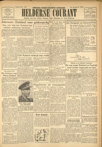 Heldersche Courant 1949-11-25