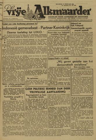De Vrije Alkmaarder 1946-02-11