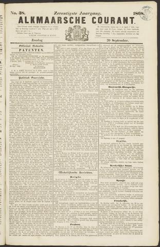 Alkmaarsche Courant 1868-09-20