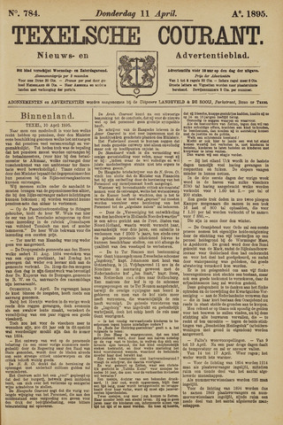 Texelsche Courant 1895-04-11