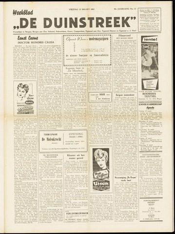 De Duinstreek 1962-03-23