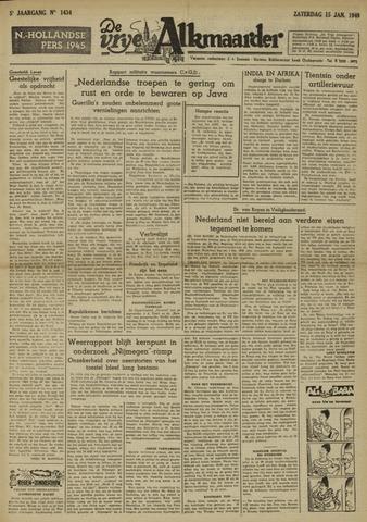 De Vrije Alkmaarder 1949-01-15