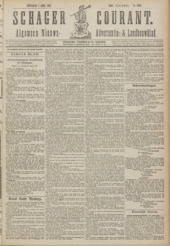 Schager Courant 1920-04-01