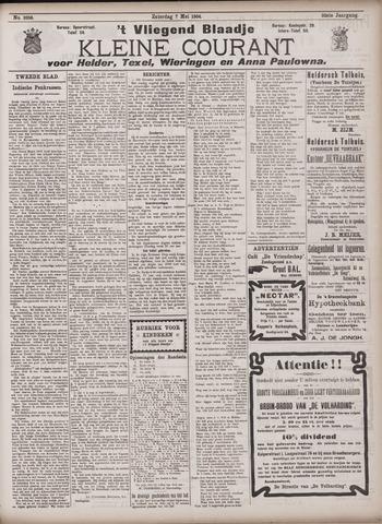 Vliegend blaadje : nieuws- en advertentiebode voor Den Helder 1904-05-07
