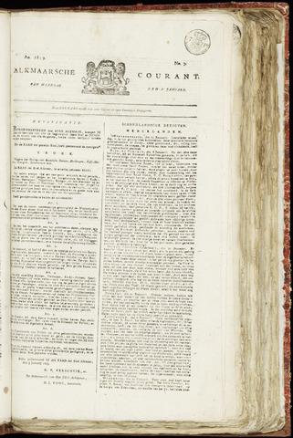 Alkmaarsche Courant 1819-01-18