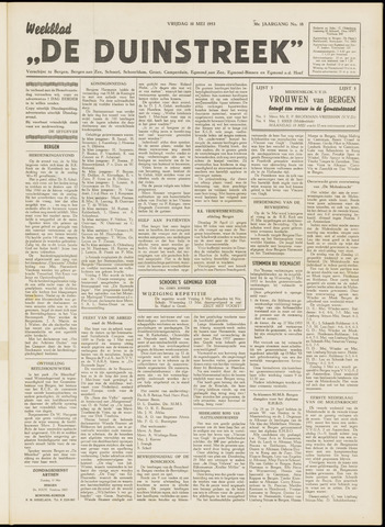 De Duinstreek 1953-05-08