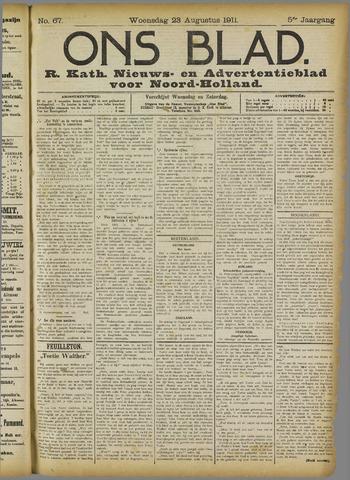 Ons Blad : katholiek nieuwsblad voor N-H 1911-08-23