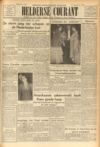 Heldersche Courant 1952-11-07