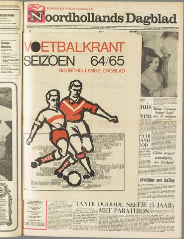 Noordhollands Dagblad : dagblad voor Alkmaar en omgeving 1964-08-31