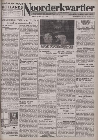 Dagblad voor Hollands Noorderkwartier 1941-11-20
