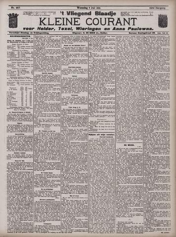 Vliegend blaadje : nieuws- en advertentiebode voor Den Helder 1913-07-09