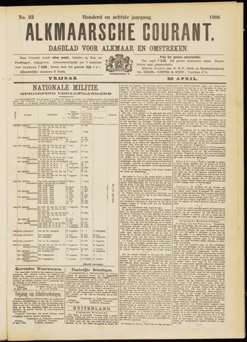 Alkmaarsche Courant 1906-04-20