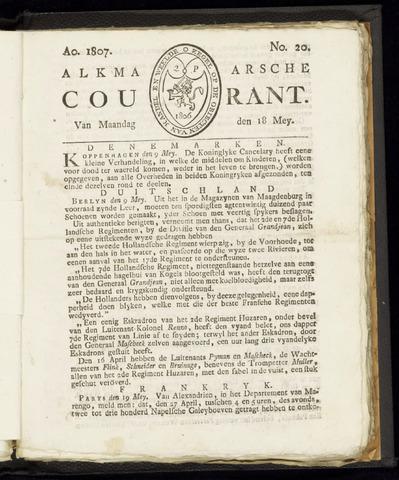 Alkmaarsche Courant 1807-05-18