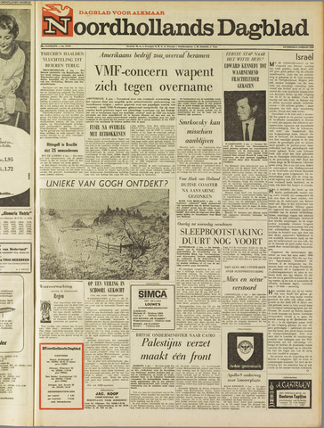 Noordhollands Dagblad : dagblad voor Alkmaar en omgeving 1969-01-04