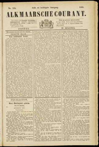 Alkmaarsche Courant 1886-08-29