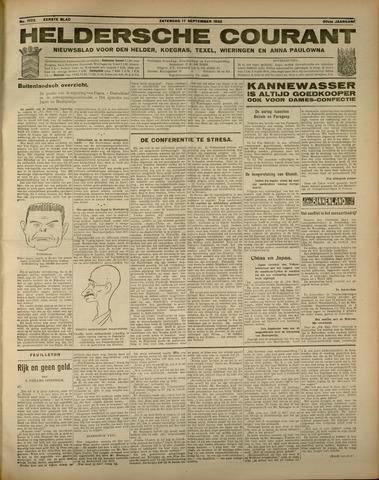 Heldersche Courant 1932-09-17