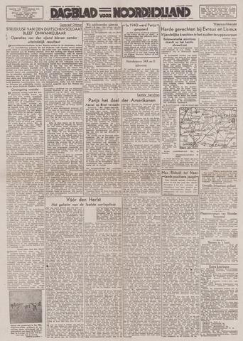 Dagblad Noord-Holland, Schager editie 1944-08-23