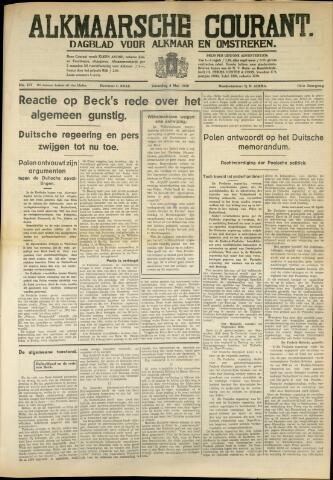 Alkmaarsche Courant 1939-05-06