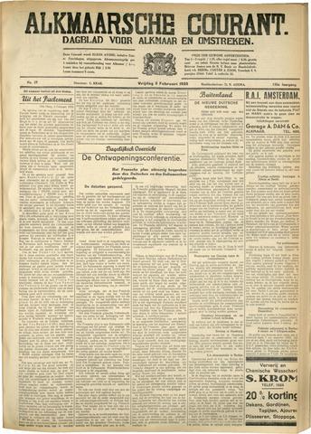 Alkmaarsche Courant 1933-02-03