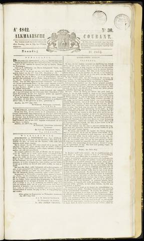 Alkmaarsche Courant 1842-07-25