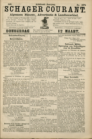 Schager Courant 1874-03-12