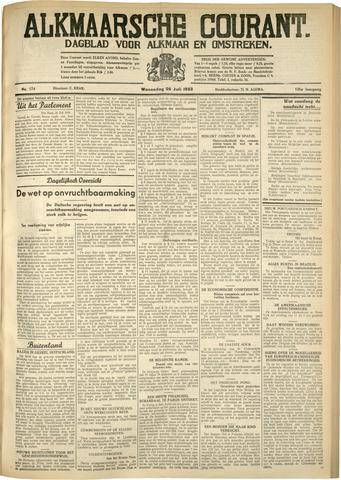 Alkmaarsche Courant 1933-07-26