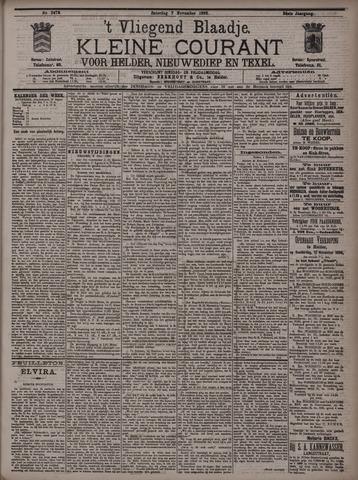 Vliegend blaadje : nieuws- en advertentiebode voor Den Helder 1896-11-07