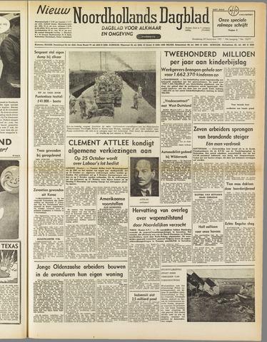 Nieuw Noordhollandsch Dagblad : voor Alkmaar en omgeving 1951-09-20