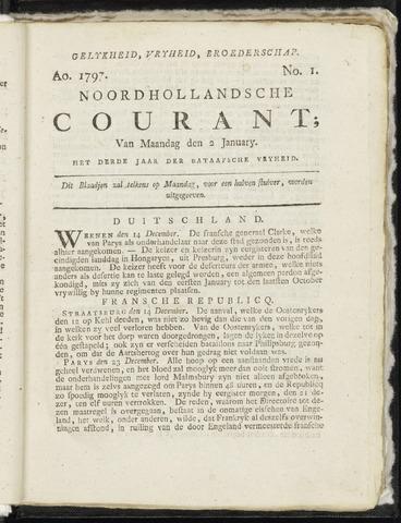 Noordhollandsche Courant 1797