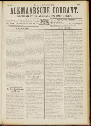 Alkmaarsche Courant 1911-11-30