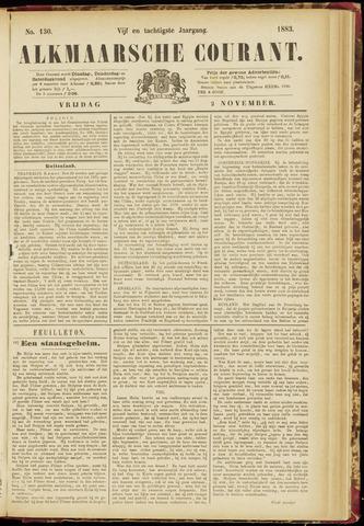 Alkmaarsche Courant 1883-11-02