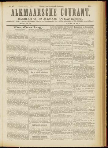 Alkmaarsche Courant 1915-11-10
