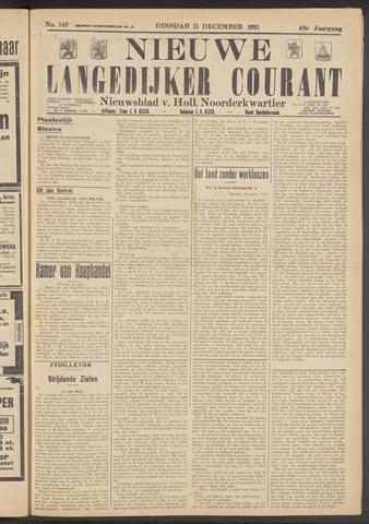 Nieuwe Langedijker Courant 1931-12-15
