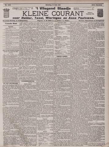 Vliegend blaadje : nieuws- en advertentiebode voor Den Helder 1912-06-15