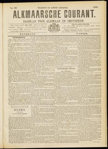 Alkmaarsche Courant 1906-04-07