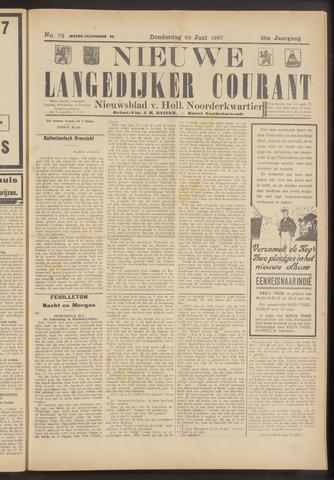 Nieuwe Langedijker Courant 1927-06-23