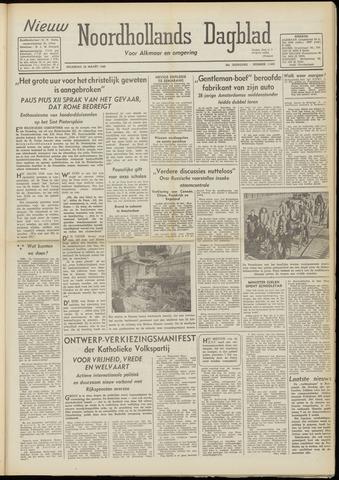 Nieuw Noordhollandsch Dagblad : voor Alkmaar en omgeving 1948-03-29