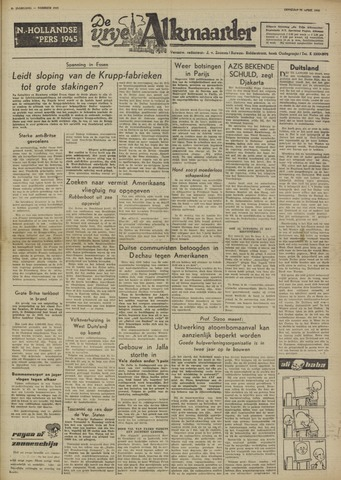 De Vrije Alkmaarder 1950-04-18